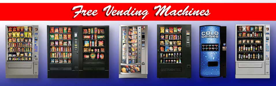 Free vending machine for your workplace business