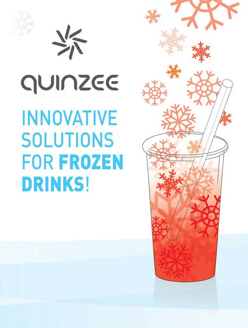 Quinzee innovative frozen drinks