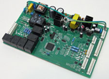 Refrigeration control board for vending machines