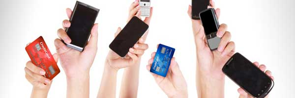 cashless payment with card phones