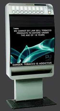 cigarette vending machine