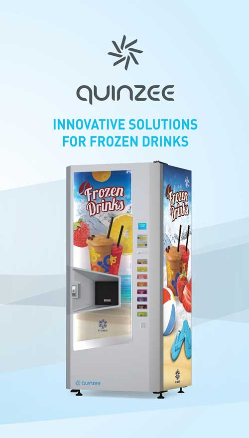 frozen drinks vending machine